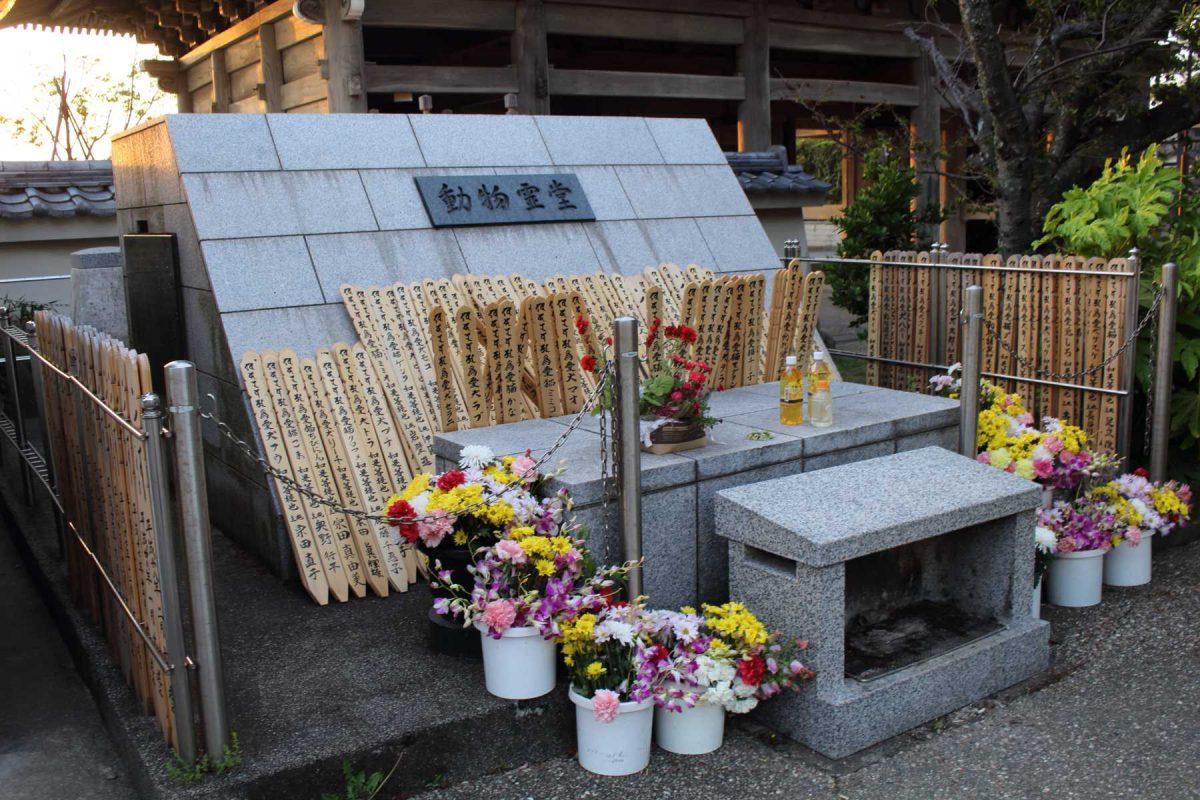 光明寺の動物霊堂
