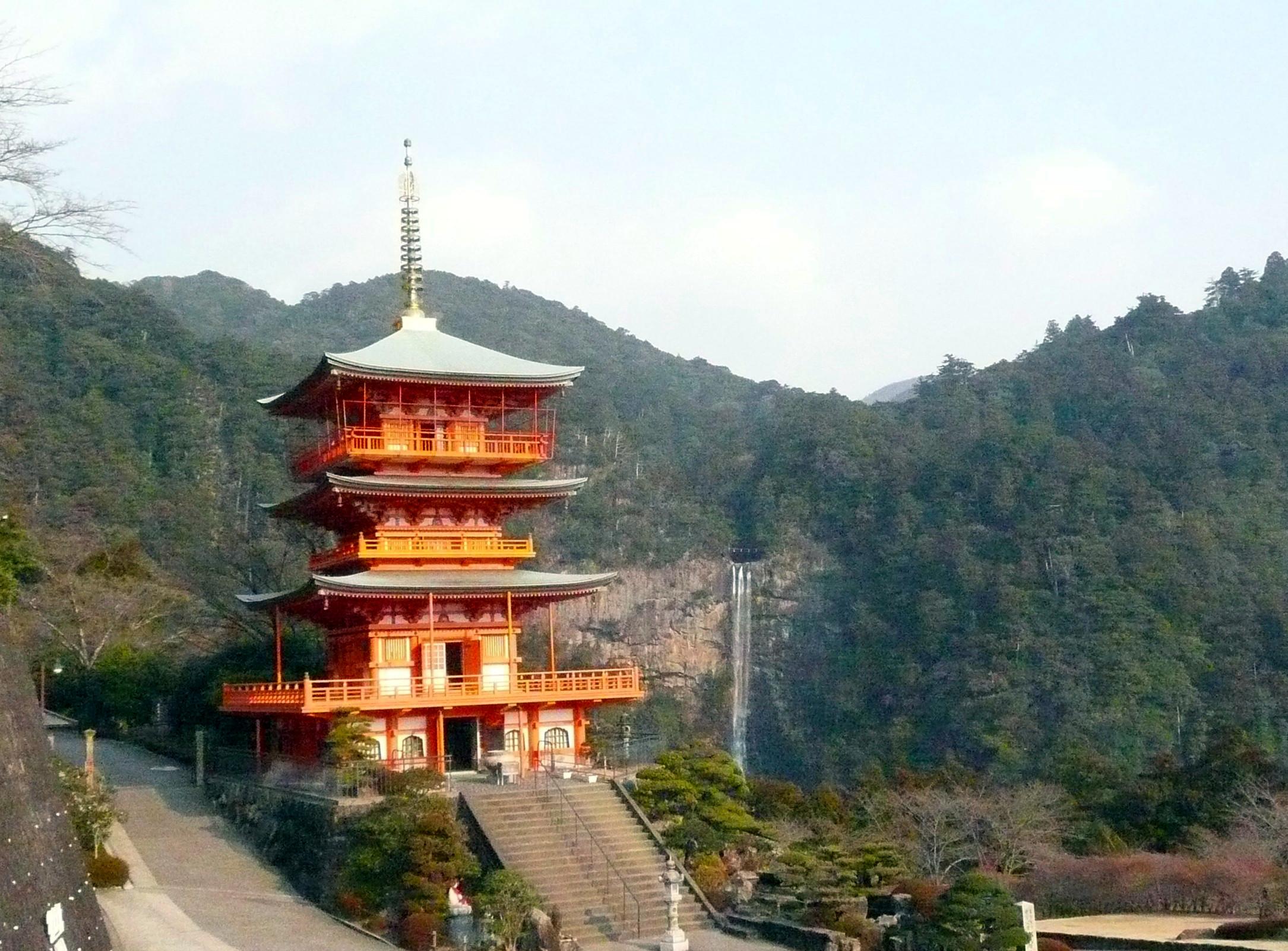 熊野那智大社と那智の滝 熊野古道をお写ん歩と言うか登山☆
