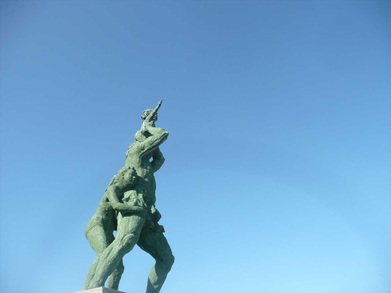 城ヶ島灯台公園の像