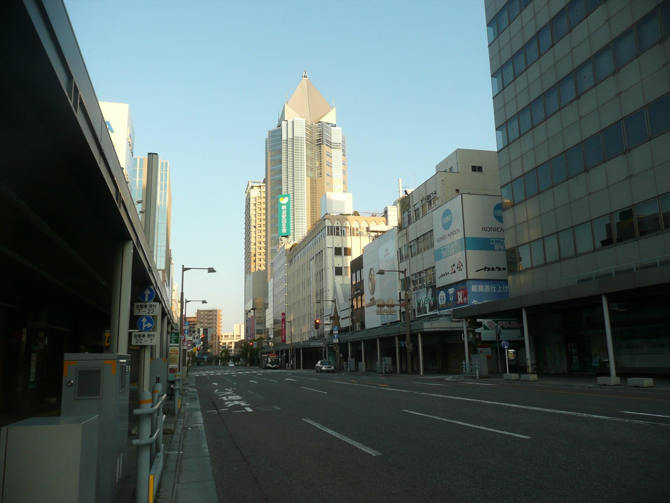 新潟市~新潟駅から日本海へ~