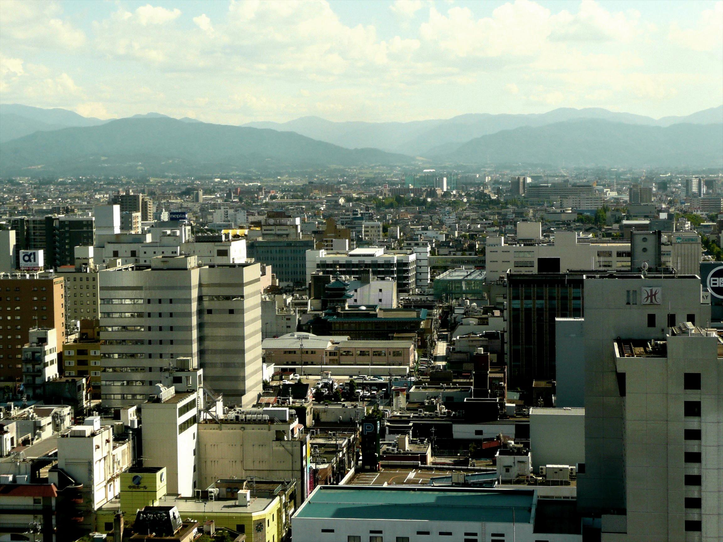 富山市に人が歩いてないんだけど!!
