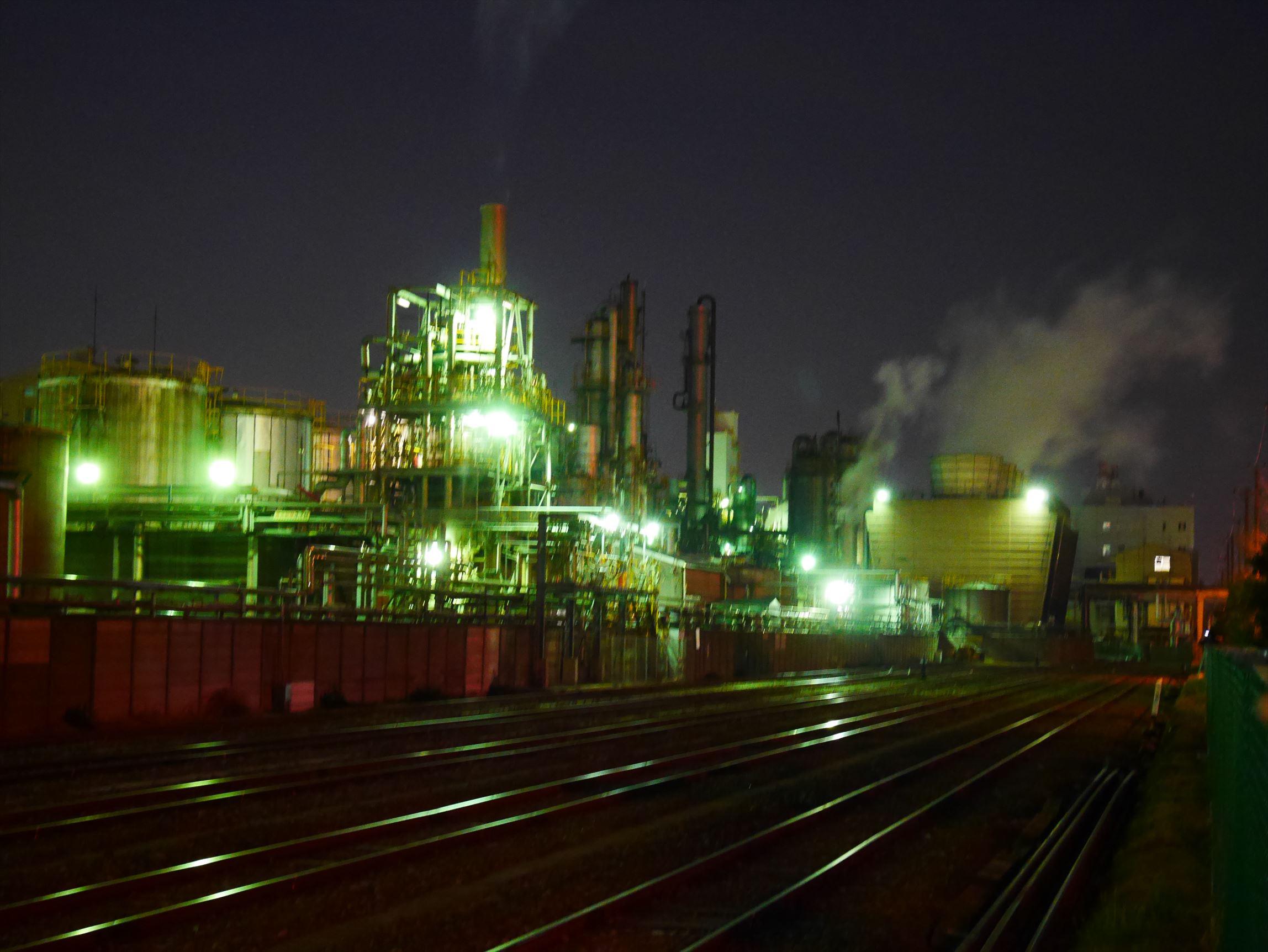 川崎~京浜工業地帯の夜景がすごいんです~