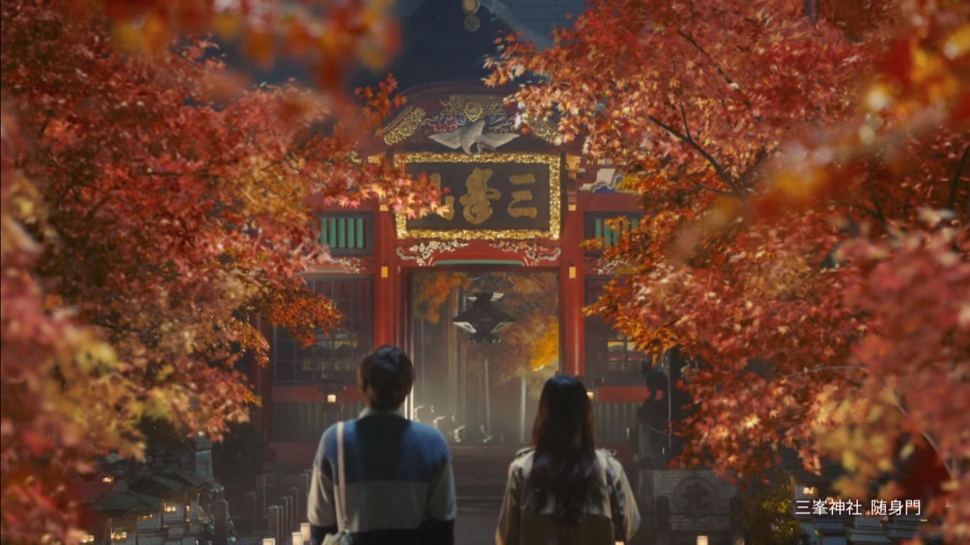 奥秩父の三峯神社の紅葉の理想と衝撃の真実