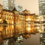 まるで宝石箱!美しすぎる東京駅★雨の日の東京駅、ミチテラス、イルミネーション、クリスマス