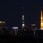 東京タワーとスカイツリーが同じ高さに見えるスポットはここ