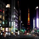 六本木から東京タワーに向かって 夜もお写ん歩