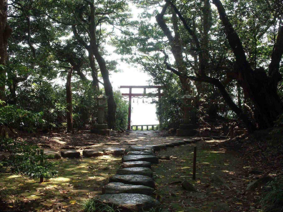 大湊神社の鳥居