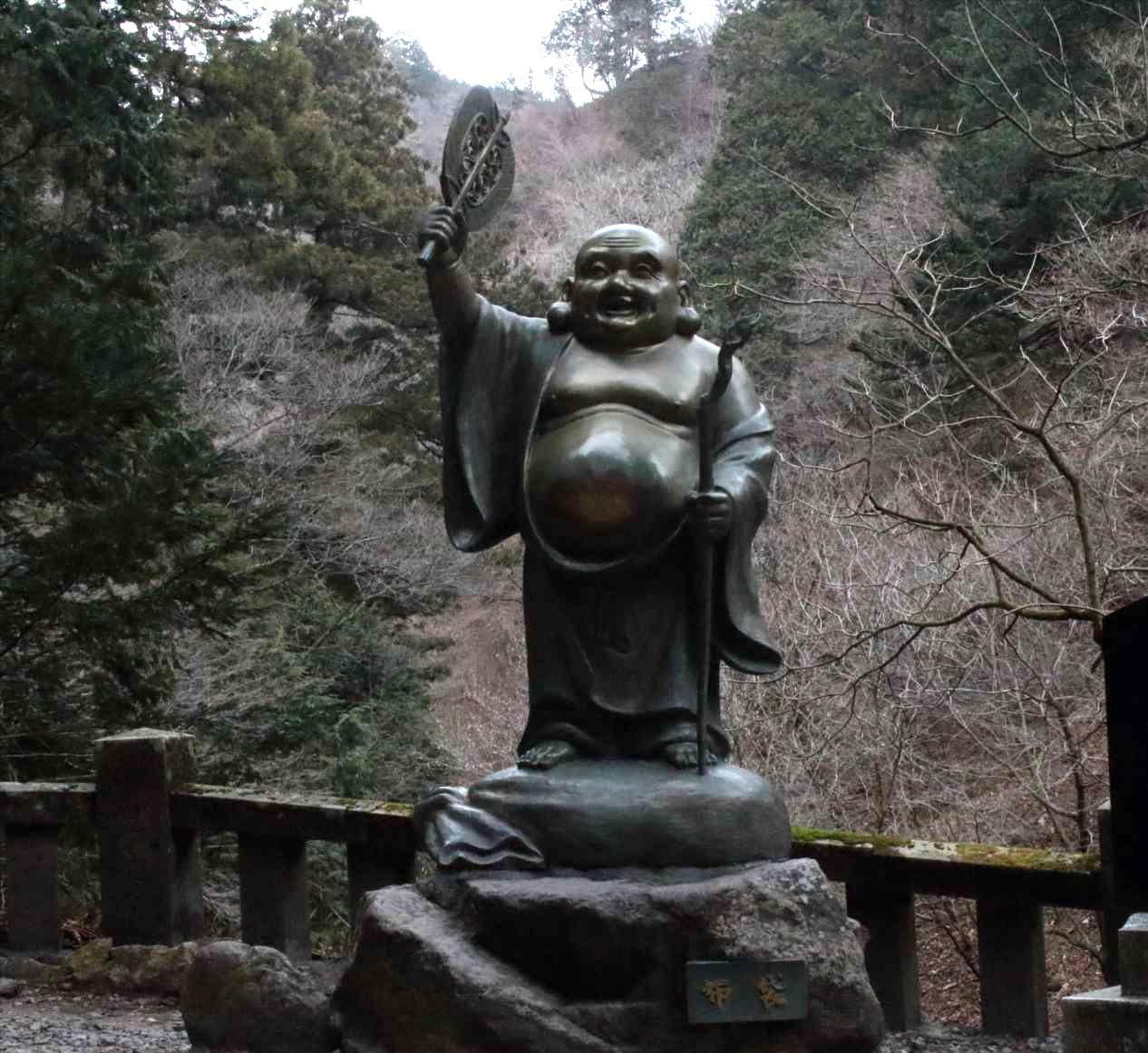榛名神社の布袋尊