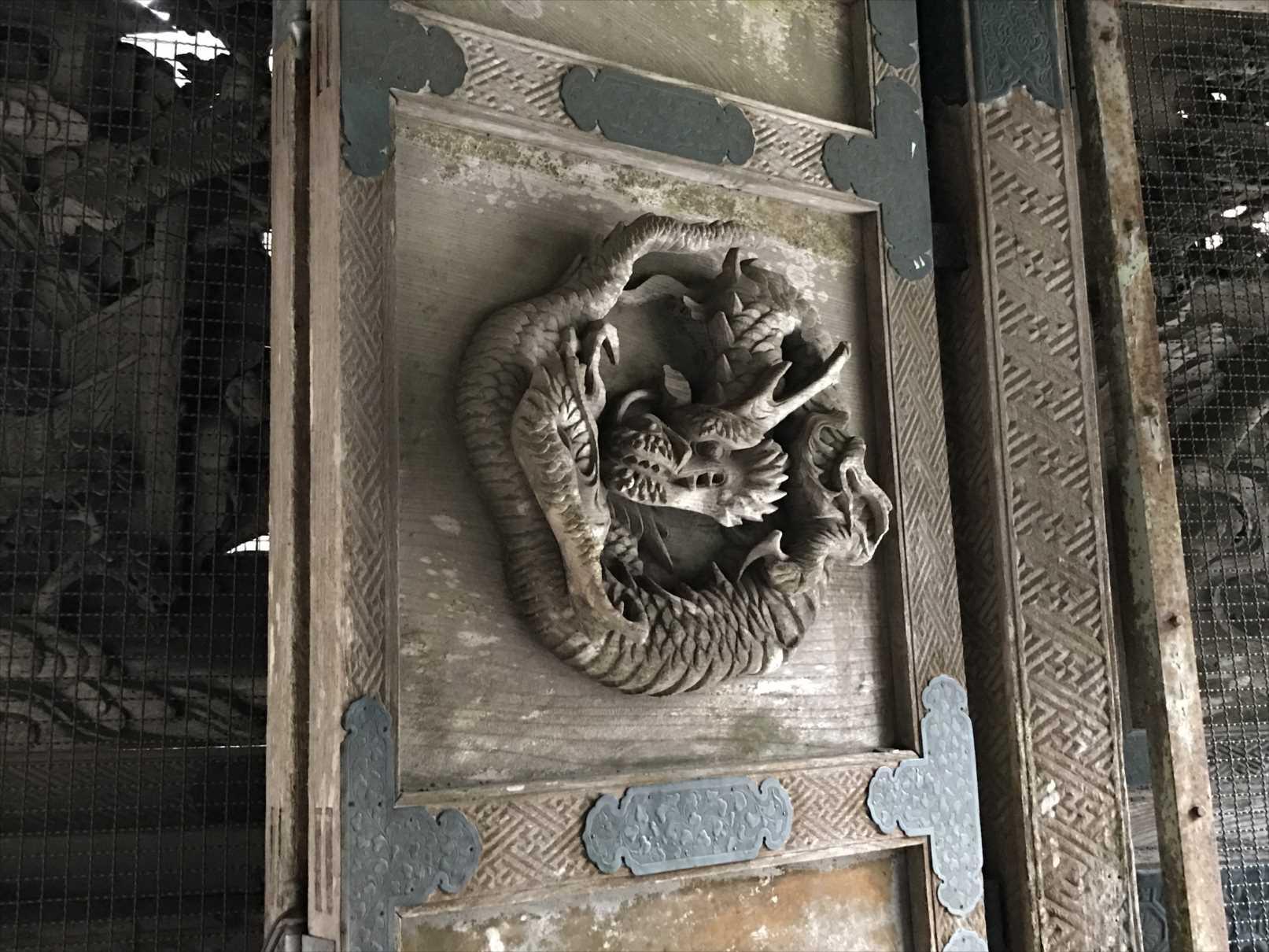 双龍門の龍