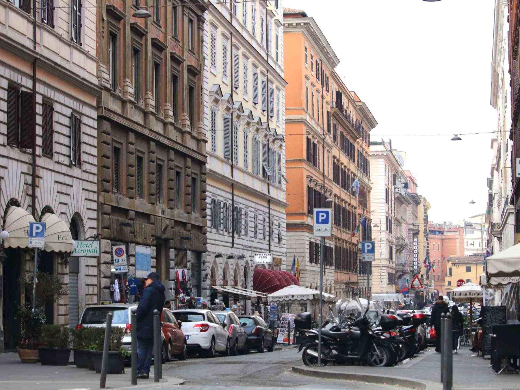 ローマ市内