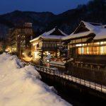 死の恐怖、雪の羽黒山湯神神社。東山温泉に行って来た