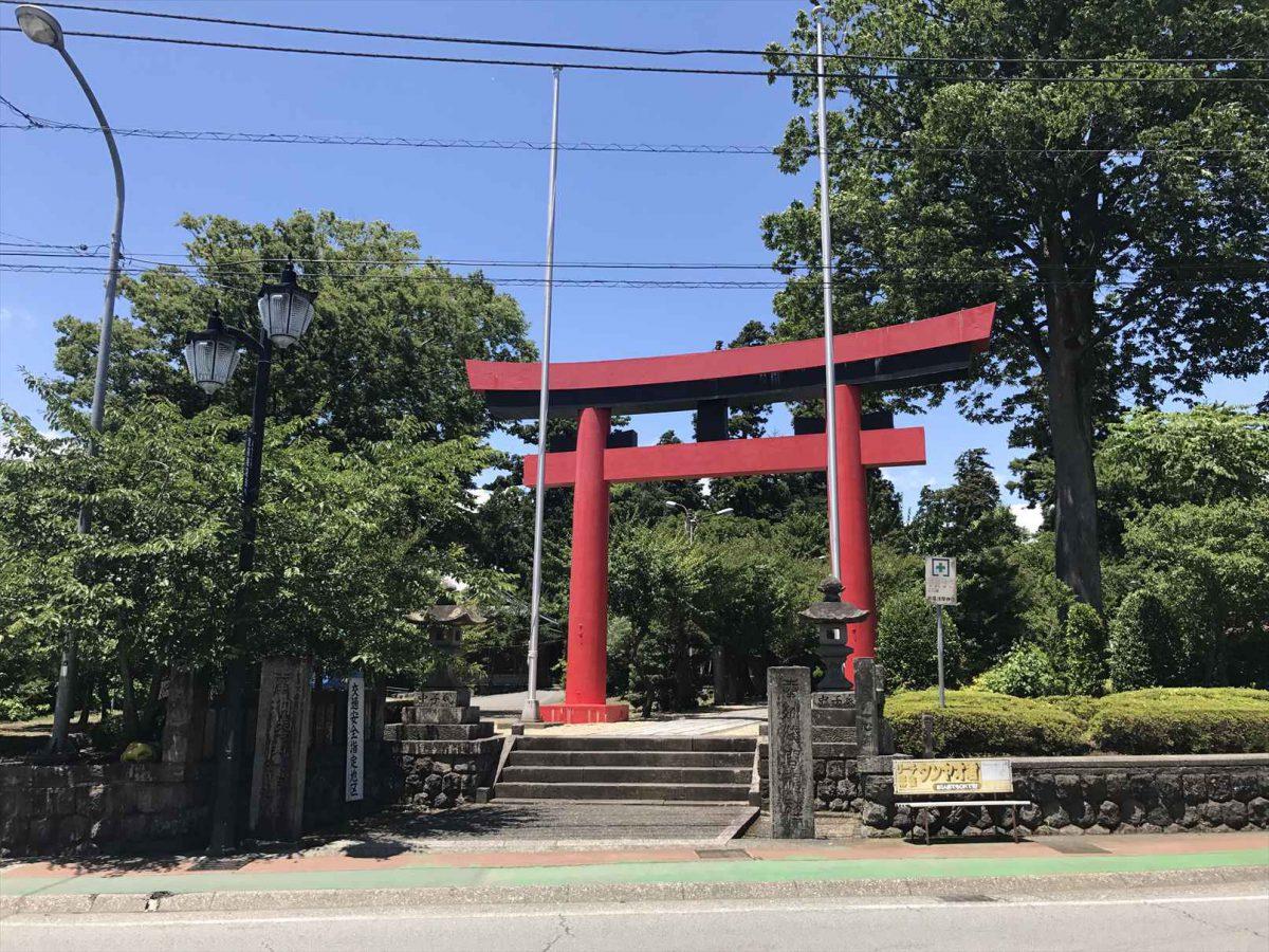 御殿場浅間神社の鳥居