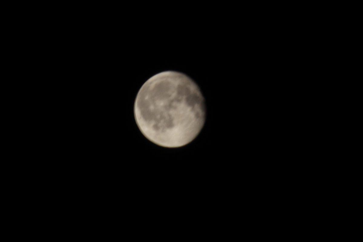 御殿場の月