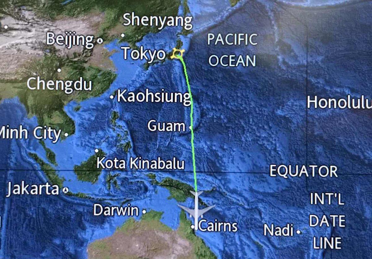 日本からオーストラリアへ