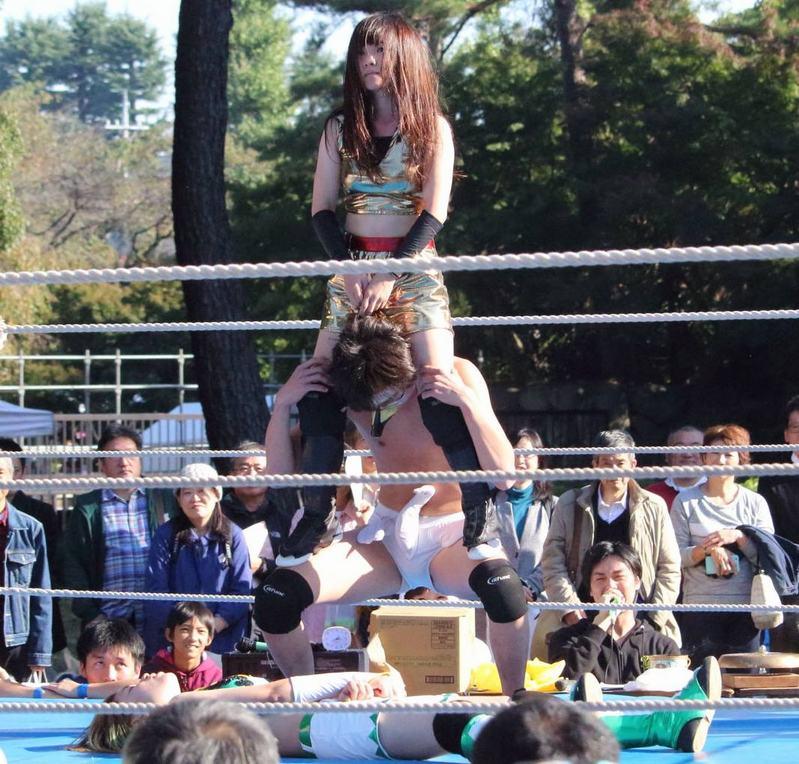 一橋大学 一橋祭 プロレス