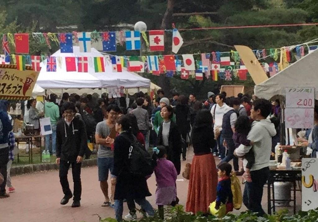 国際色豊かなICUの学園祭