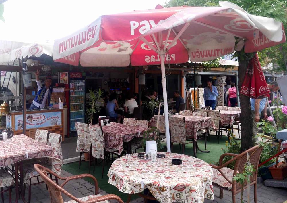 カッパドキアのレストラン