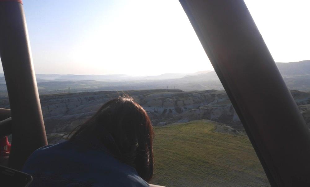 気球からの景色