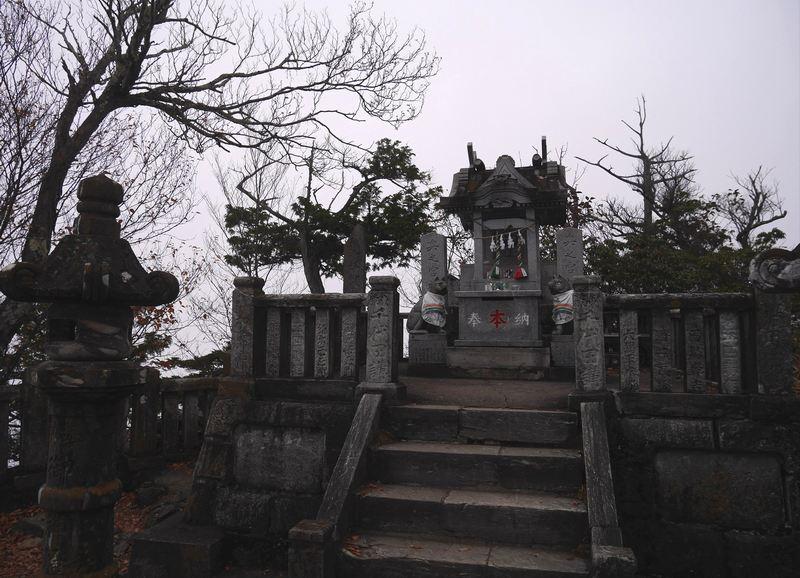 三峯神社の奥宮