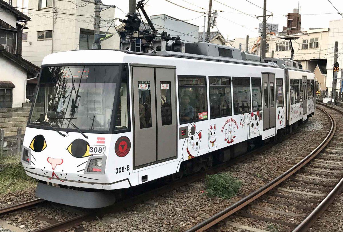 猫電車撮影スポット