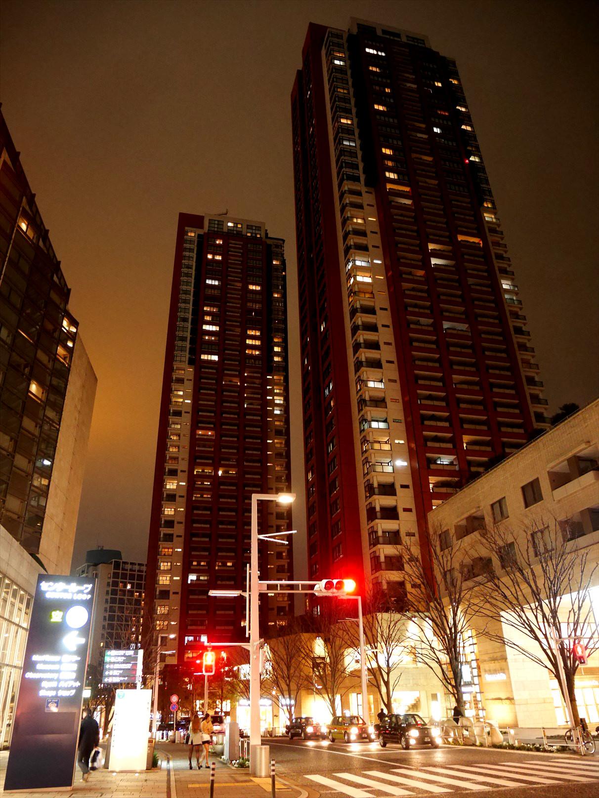 六本木ヒルズのマンション群