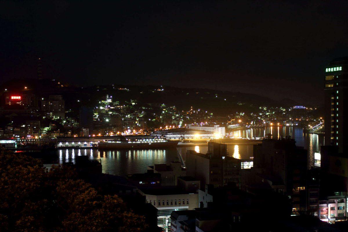 基隆の夜景