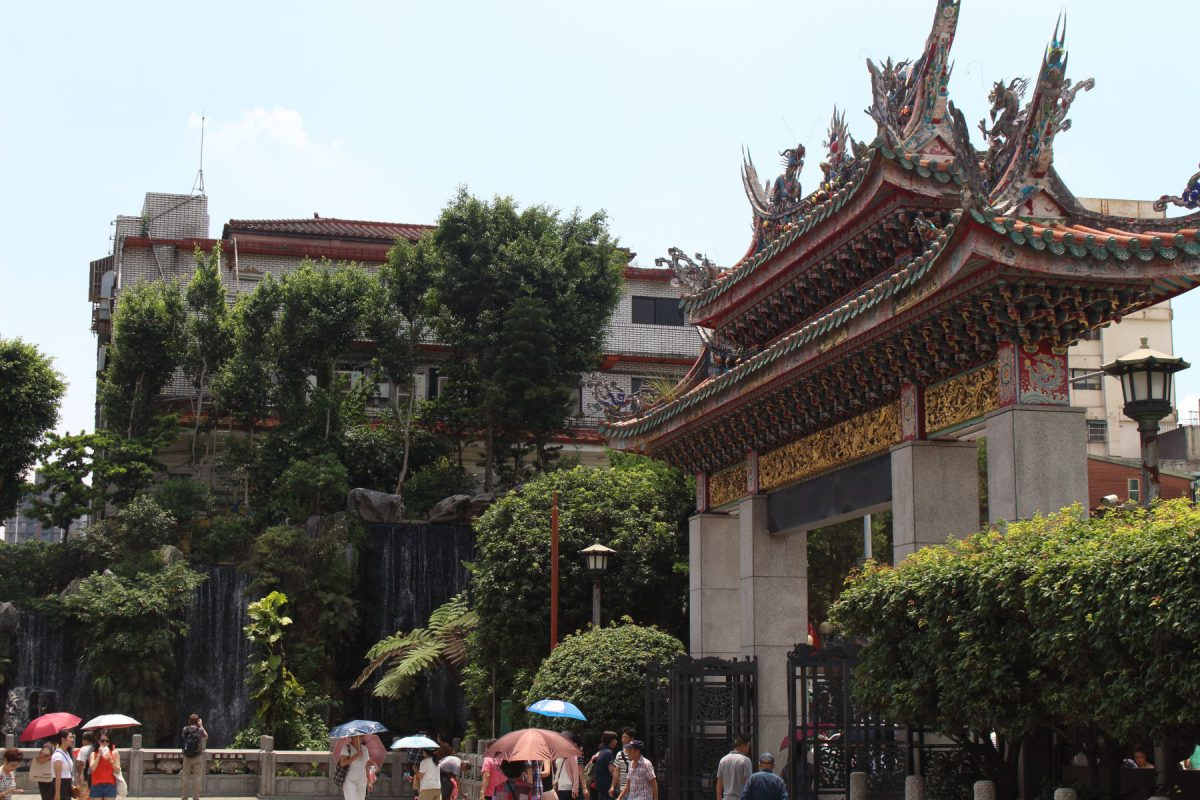 龍山寺周辺