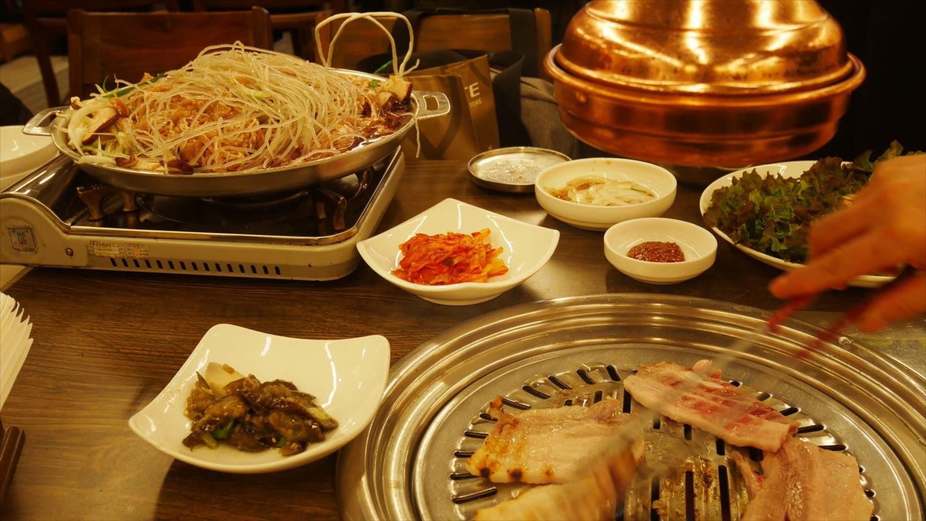 韓国の焼き肉