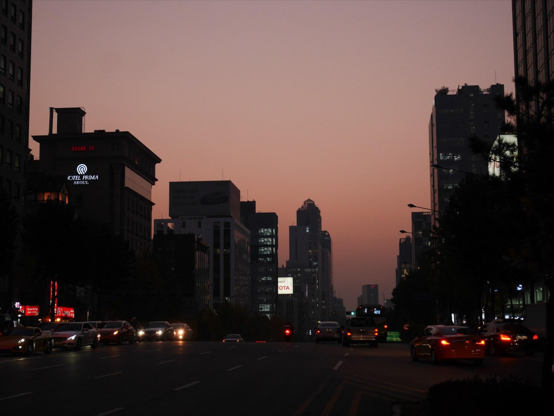 ソウル市街地南部