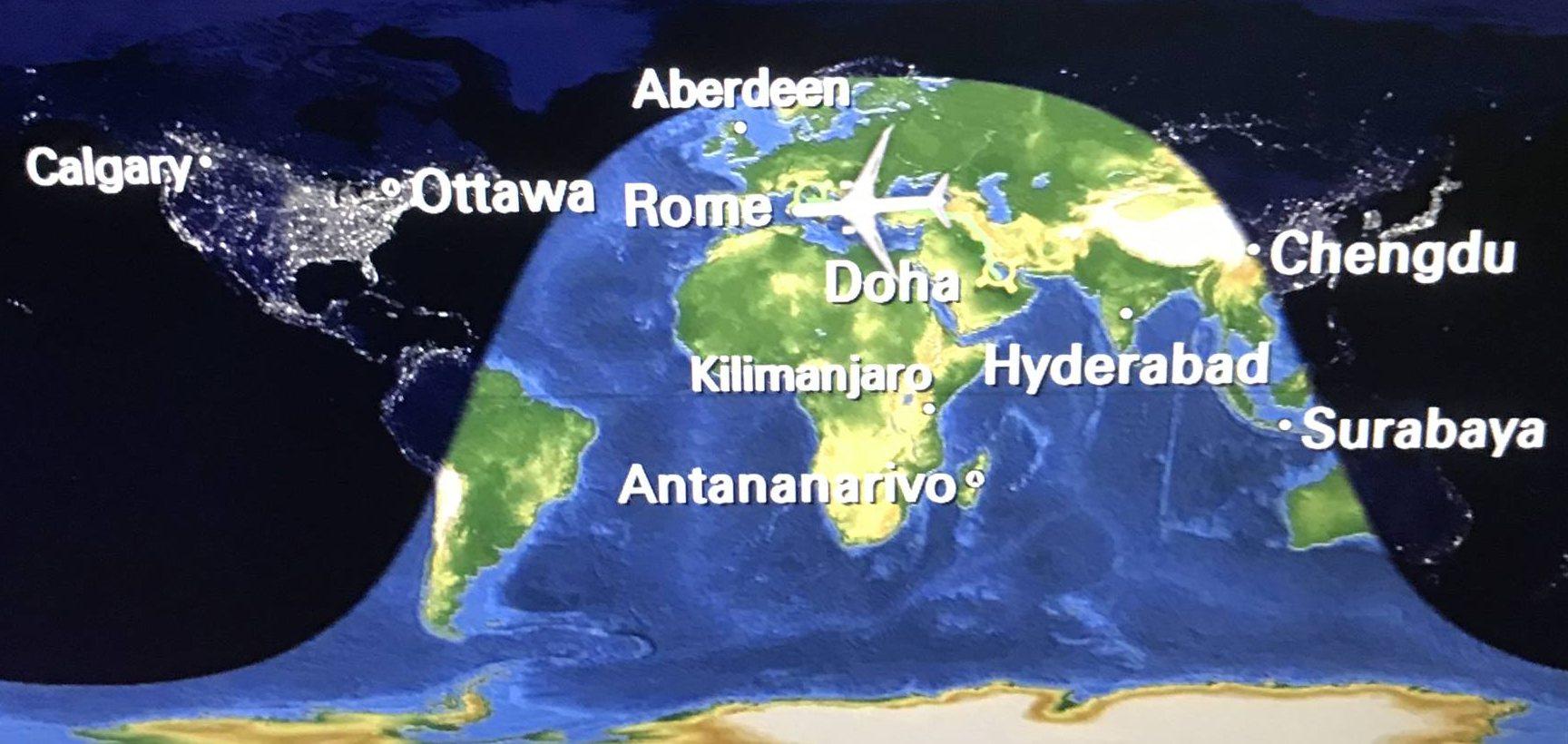日本からローマへ