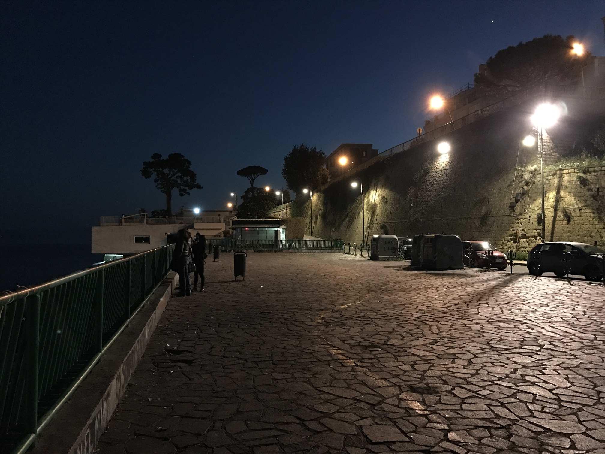 ポジポリの丘の展望台