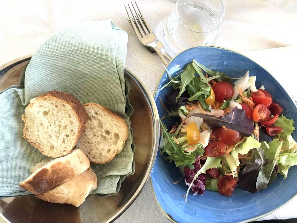 アマルフィのレストランLo Smeraldino