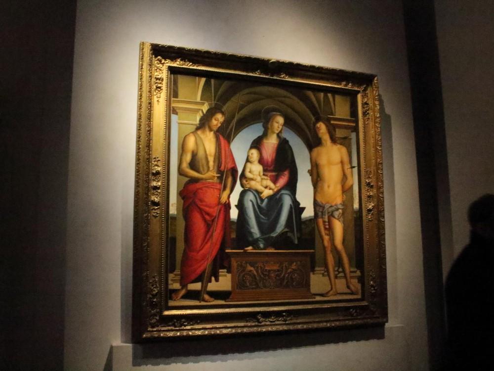 ウィフィツィ美術館