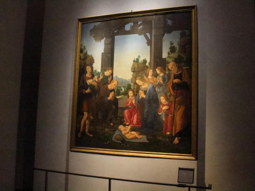 ウィフィツィ美術館の絵