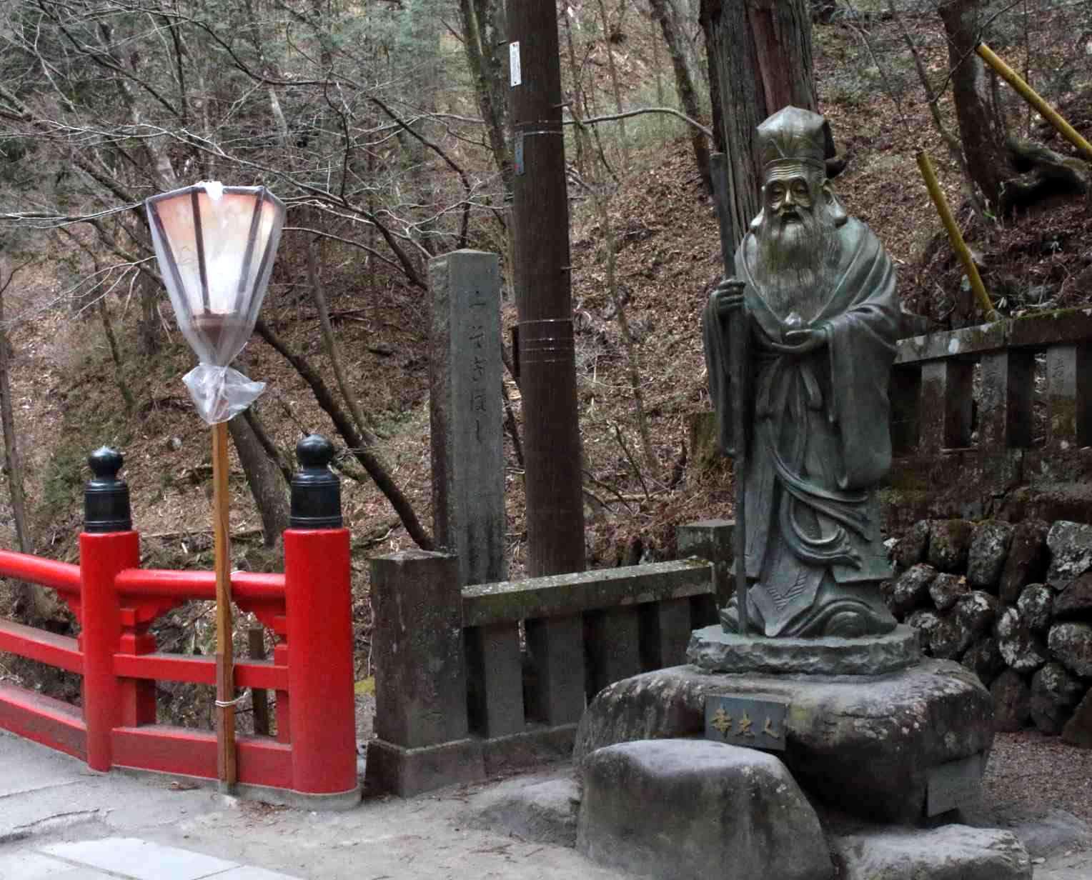榛名神社の福禄寿
