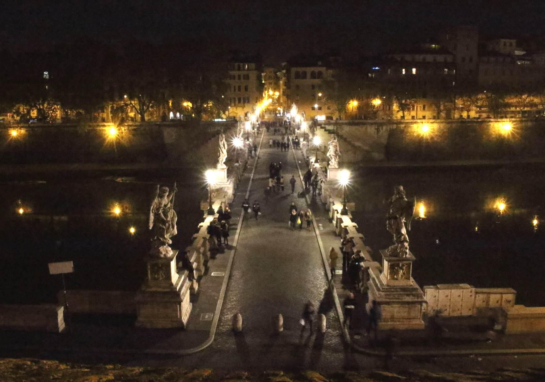サンタンジェロ城からローマ