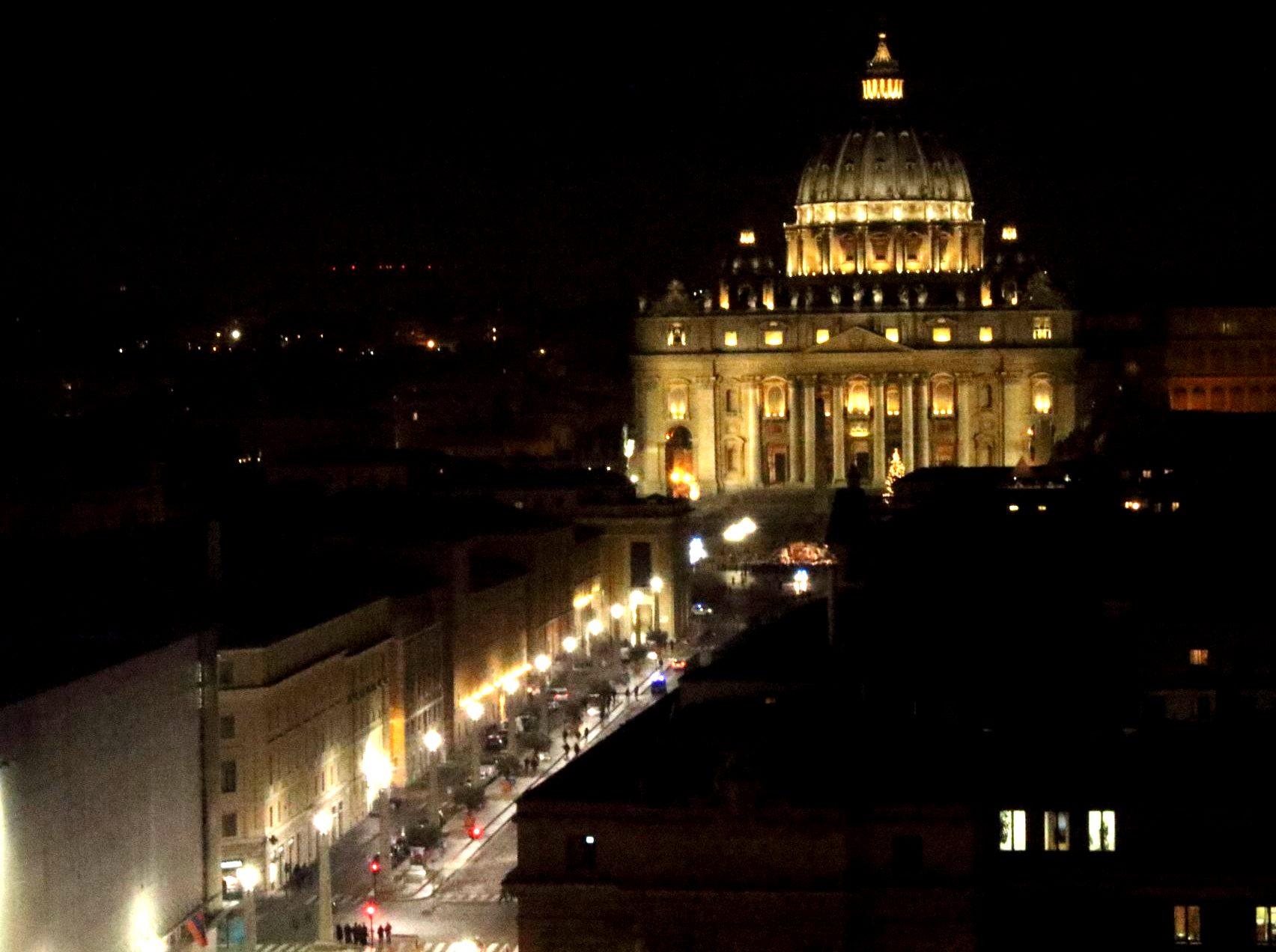 サンタンジェロ城からバチカン