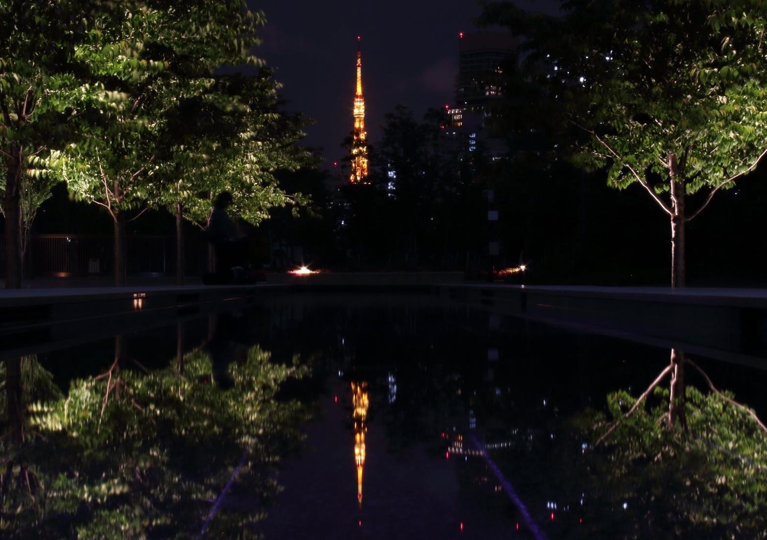 品川シーズンテラスの東京タワー