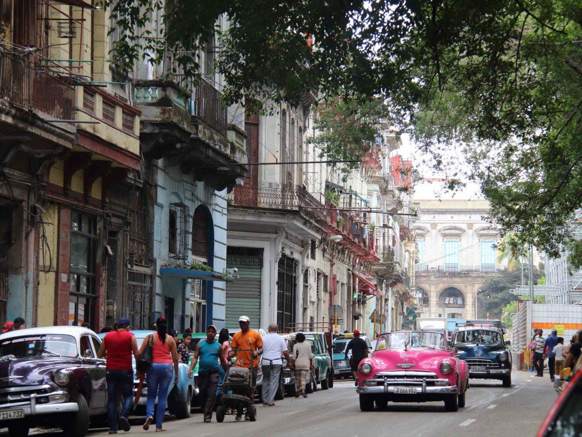 ハバナの街の風景