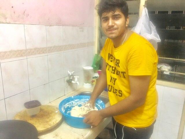 チャパティの作り方1
