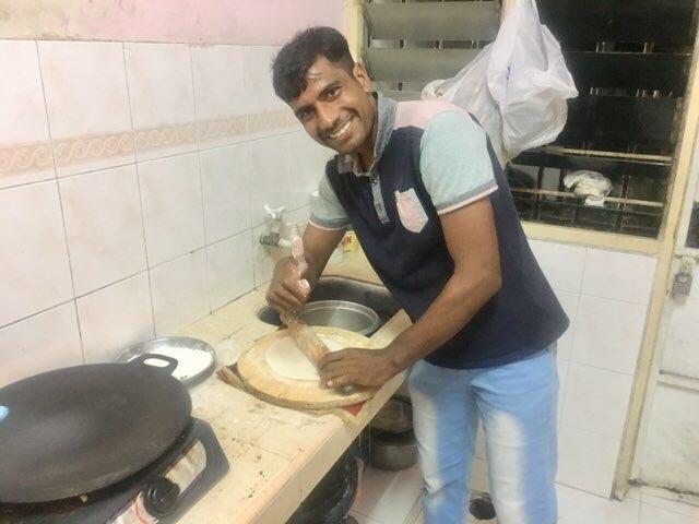 チャパティの作り方2
