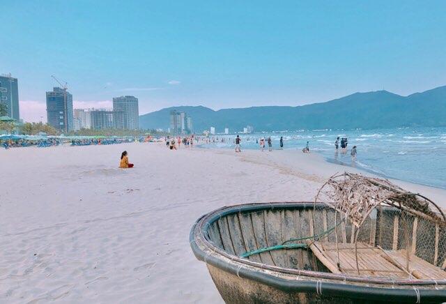 ダナンのビーチ
