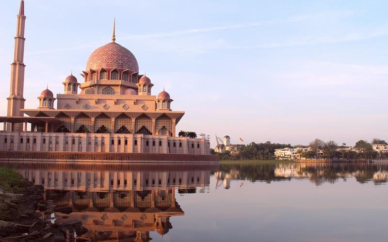 マレーシアピンクモスク