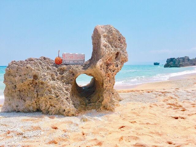 トケイ浜のポットポール