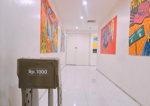 インドネシアの有料トイレ