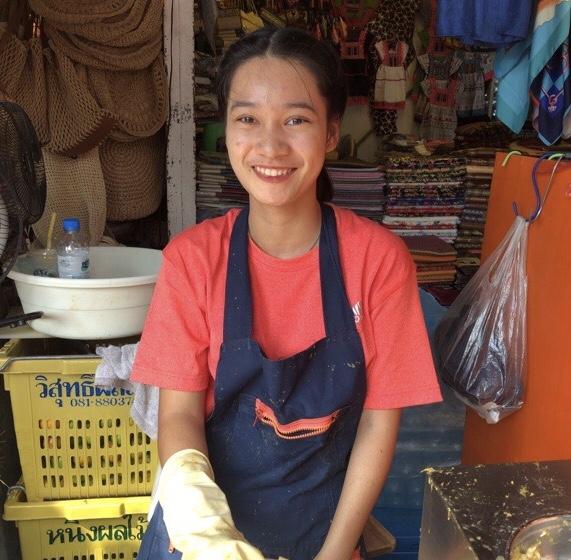 タイ人の微笑み