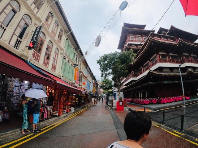 """""""シンガポールの中華街""""width=""""640"""""""