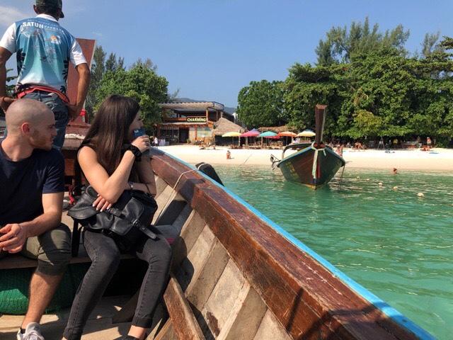 リペ島への渡し舟