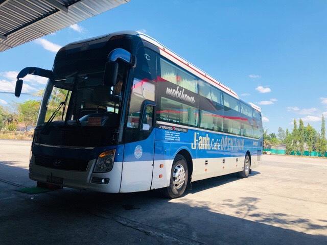 ムイネーからホーチミン行きのバス