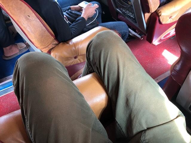 プノンペン行きバスの乗車の仕方